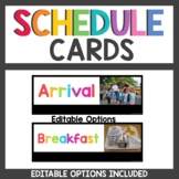 Schedule Cards with Real Photos
