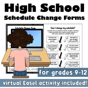 Back to School: High School Schedule Change Forms & Infographic