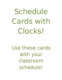 Schedule Clock Cards