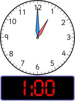 Schedule Clocks - Analog and Digital