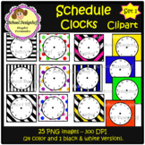 Schedule Clocks (School Designhcf)
