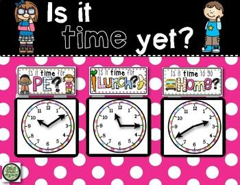 Schedule Clocks FREEBIE