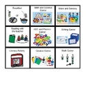 Schedule / Communication Icons for Pre-K / K setting