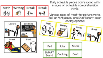Schedule Comprehension Picture-Word Match