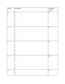 Schedule Creation Beginner-Level or early Mid-Level French