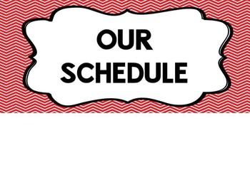 Schedule Headers