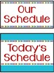 Schedule Picture Cards