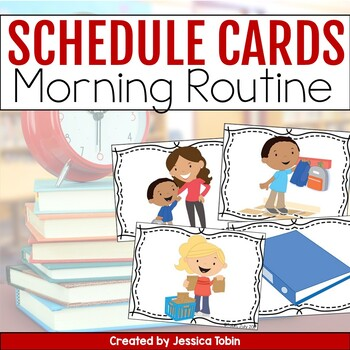 Schedule Picture Cards for Morning Routine