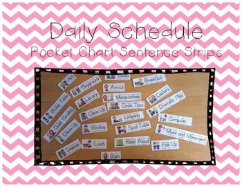 Schedule Sentence Strips