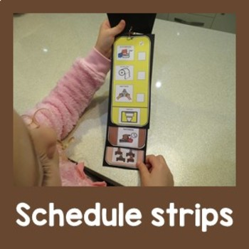 Schedule Strips for Classroom Management