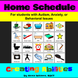 Home Schedule for Students With Autism, Anxiety, or Behavi