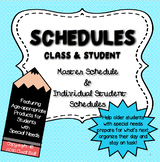 Schedules: Class & Student