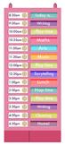 Scheduling Pocket Chart + Free Fonts4Teachers CD