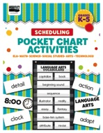 Scheduling Pocket Chart Activities