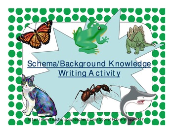 Schema Background Knowledge Writing