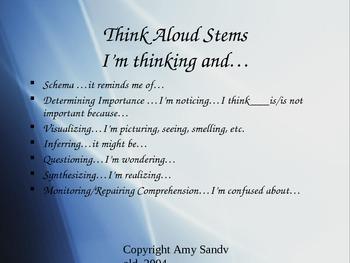 Comprehension Strategies: Schema & Determining Importance