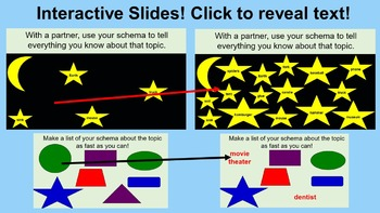 Schema Lessons and Activities (PowerPoint)