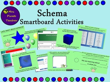 Schema Lessons and Activities (Smartboard)