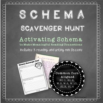 Schema Scavenger Hunt- Activating Schema to Make Meaningfu