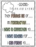 Schema Thinking Stem Poster