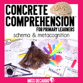 Schema and Metacognition Concrete Comprehension for Primar