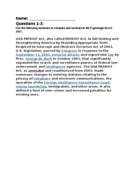 Schenck v. United States Court Case