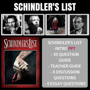Schindler's List Movie Guide Intro PPT and Video