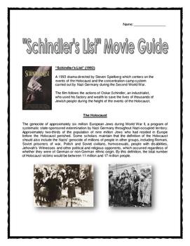schindlers list analysis