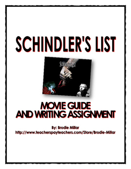 Holocaust - Schindler's List - Movie Guide Questions, Assi