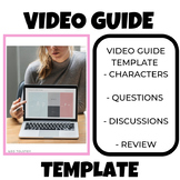 Video Guide Template Sheet