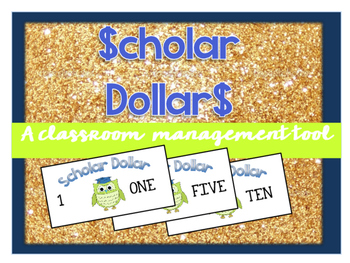 Scholar Dollar Classroom Money