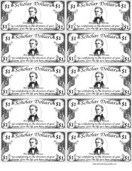 Scholar Dollars Classroom Economy By Eduventuring Tpt