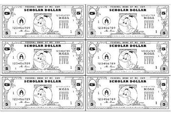 Scholar Dollars, Rewards