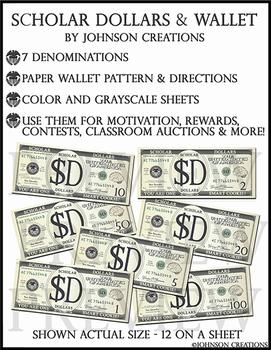 Scholar Dollars & Wallet