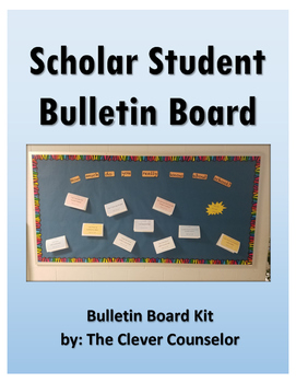Scholar Student Bulletin Board Kit