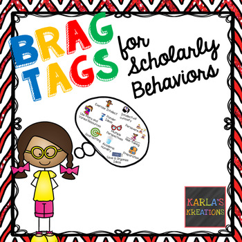 Scholarly Behavior Brag Tags