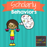 Scholarly Behaviors Posters