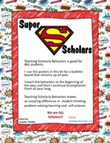 Scholarly Behaviors - Superhero Style