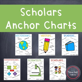 Scholars Anchor Charts