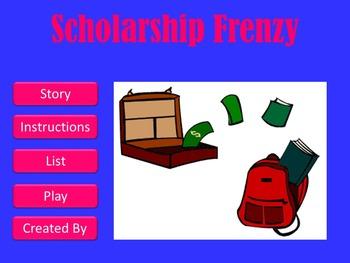Scholarship Frenzy Game