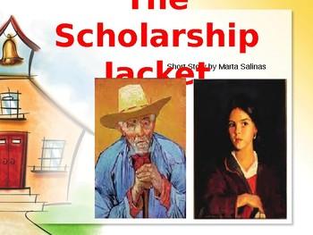Scholarship Jacket by Marta Salinas. ANALYSIS AND REVIEW