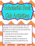 Scholastic Book Club Activities