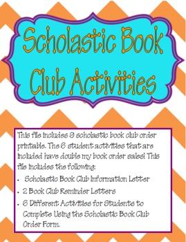 Scholastic Book Club Activities