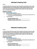Scholastic Book Club Half Sheet Reminder/How-To