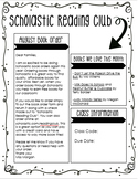 Scholastic Book Club Parent Letter (Editable)