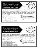 Scholastic Book Club Letter to Parents (Editable)