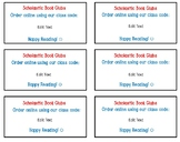Scholastic Book Clubs Flyer Tags