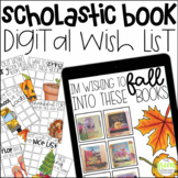 Scholastic Book Digital Wish Lists (FOR THE ENTIRE YEAR!)