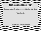 Scholastic Book Fair Brochure Task Cards Spring 2016