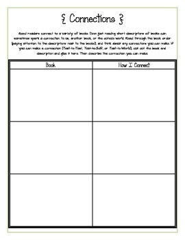 Scholastic Book Order Activities Pack